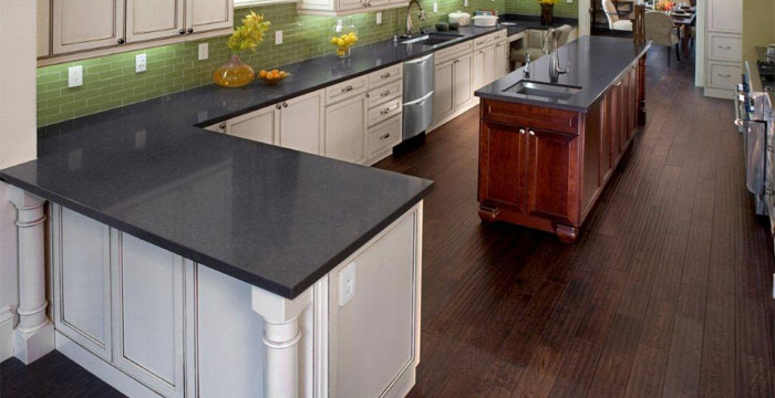 Caesarstone Countertops : American Contractors : Quartz Caesarstone countertops