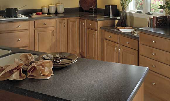 A american contractors corian countertops for Kitchen in the canyon