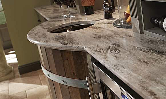 A american contractors corian countertops for Corian countertop price
