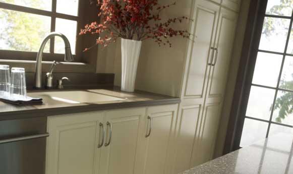 A-American Flooring : Quartz Zodiaq countertops