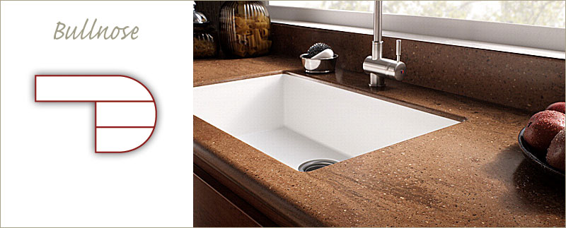 Solid Countertop : Solid Surface Edge Profiles : Countertop Edges for Kitchen & Bathroom ...