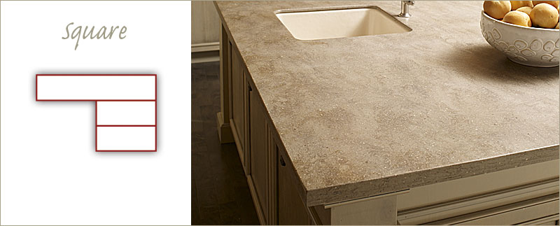 Solid Surface Edge Profiles Countertop Edges For Kitchen